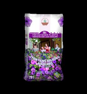 FOR FLOWERING BALCONY GARDEN