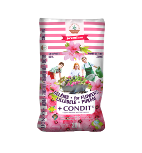 FOR FLOWERS with CONDIT®...