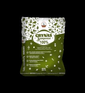 GRYNAS kompostas / 32 L